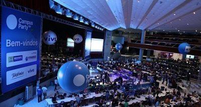 A Campus Party Natal será realizada de 11 e 15 de abril, no Centro de Convenções em Natal.