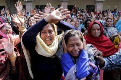 Foto: Google (Cristãos no Paquistão)