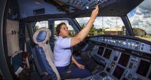 Maior crescimento ocorreu no número de mulheres com licença de pilotos privados de avião. (Foto: Reprodução/Revista Aero Latina)