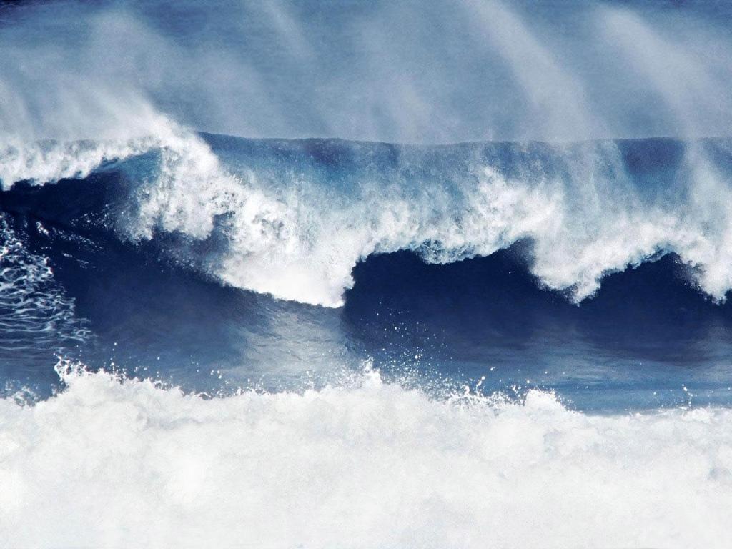 Marinha alerta para ondas de até 2,5 metros no litoral potiguar