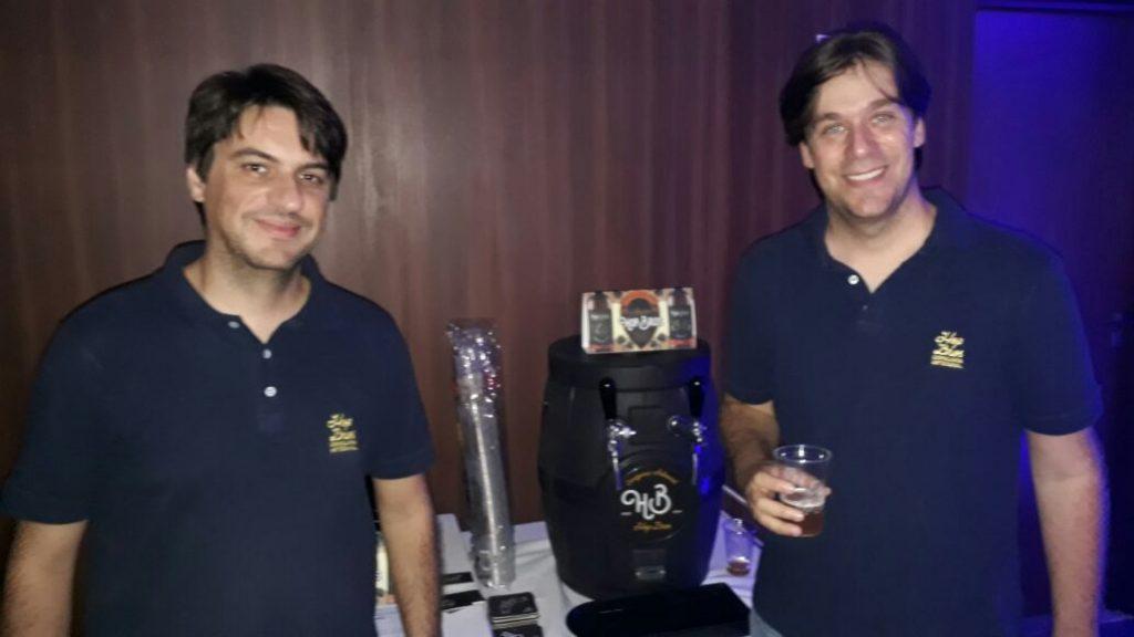 Presente no Workshop Masterop, a cerveja Artesanal Hop Bross. Um novo conceito em cerveja!