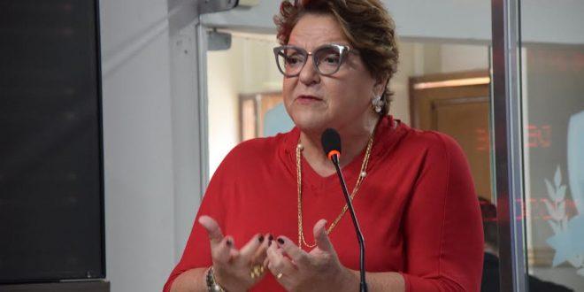 Vereadora Sandra Rosado lamenta violência contra mulher