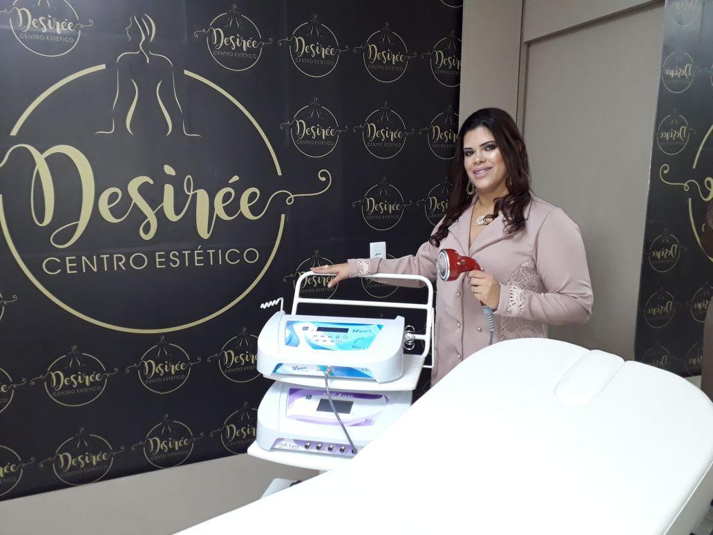 """A esteticista Desirée Ferreira inaugurou na semana passada o """"Desirée Centro Estético, em Pau dos Ferros/RN."""