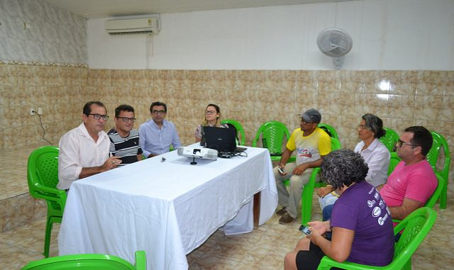 Umas das primeiras escolas a receberem as cisternas será a Escola Municipal Genildo Miranda, na comunidade de Alagoinha.