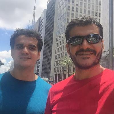 Parabéns para os gêmeos Fabrício e Fábio Torquato, aniversariantes da terça-feira, 03.