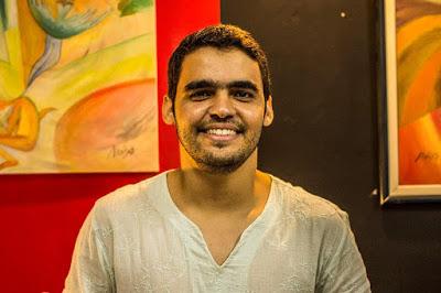 O poeta Manoel Cavalcante, aniversariante da terça-feira, dia 03. Parabéns e felicidades!!!