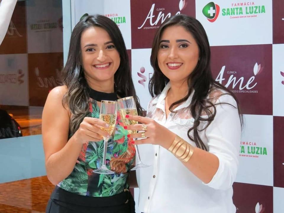 As diretoras da Clínica AME, Marília Daniele e Camila Cunha. Brinde a essa iniciativa que esta sendo um sucesso!