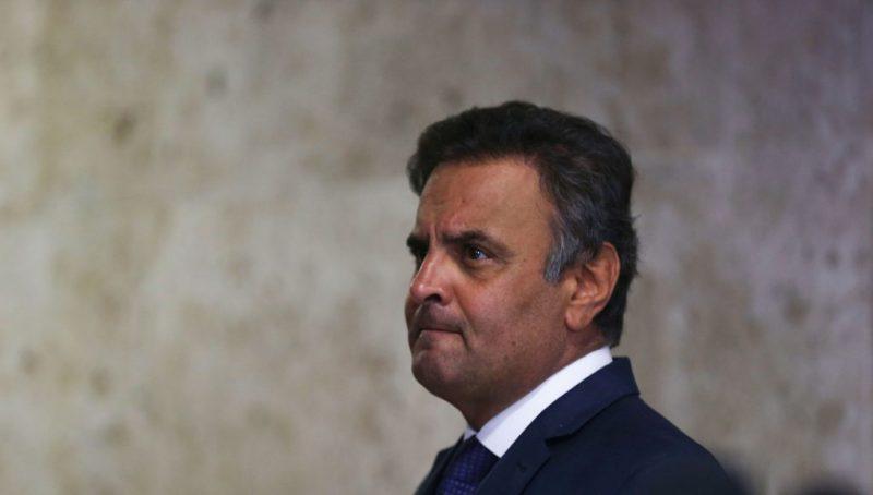 A denúncia contra Aécio Neves foi apresentada há cerca de 10 meses.