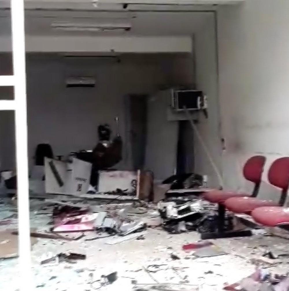 Quadrilhas atacam bancos em duas cidades do Oeste potiguar