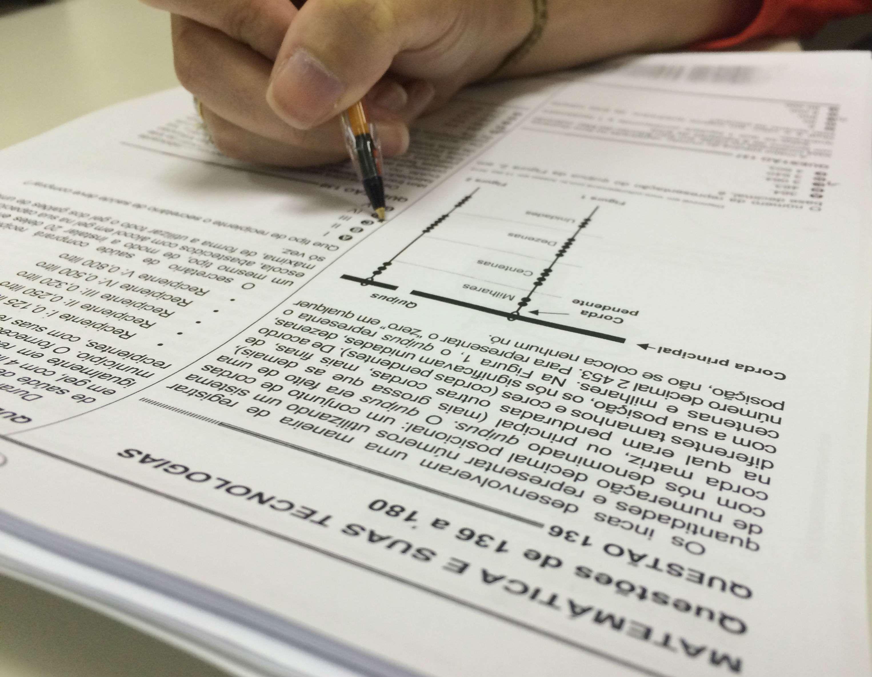 O ministro da Educação, Rossieli Soares da Silva, acredita que a queda no número de inscritos se deve às medidas adotadas pelo MEC para reduzir o número de faltantes.