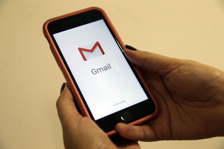A Google anunciou esta semana mudanças na sua ferramenta de e-mail, o Gmail  Antonio Cruz/Agência Brasil