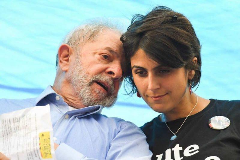 Manuela D'Ávila informou que vai transformar compromissos de pré-campanha em atos a favor do petista.