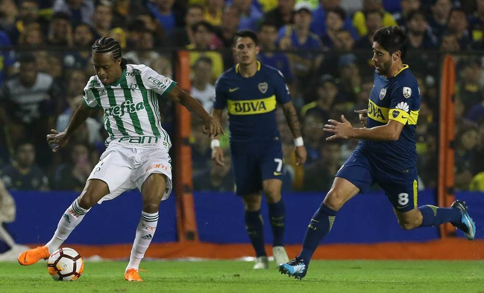Palmeiras vence Boca fora de casa e é o primeiro classificado na Libertadores
