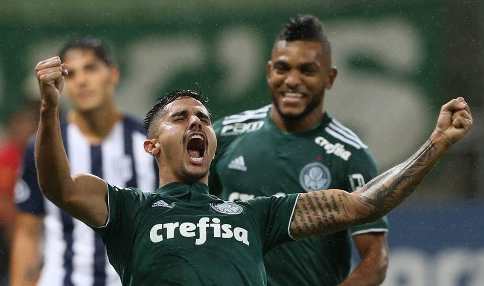 Palmeiras vence Alianza Lima e assume liderança na Libertadores
