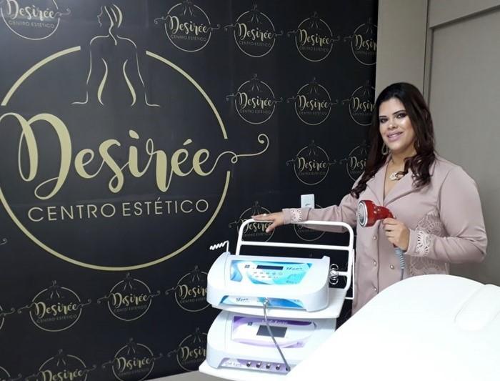 """Desirée Ferreira, vai inaugurar amanhã, o """"Desirée Centro Estético"""", na cidade de Pau dos Ferros/RN."""
