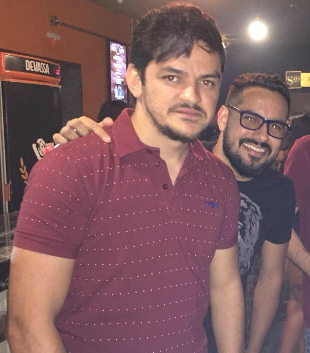 Faraó Targino e Davi Saraiva, proprietários da Up! Promoções, produtora da dupla Ítalo e Renno, também marcaram presença no VinteDez Satisfação em conhece-los.