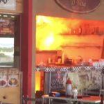 Restaurante de Estação Shopping incendeia em Mossoró