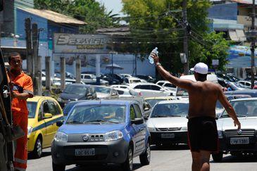 Rio de Janeiro - Pelo segundo dia consecutivo, o Rio bateu recorde de calor em 2014