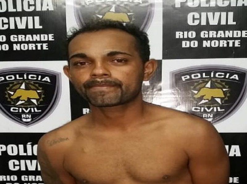 Adenilson Nunes da Silva foi preso em cumprimento a um mandado judicial pelo crime de homicídio qualificado.