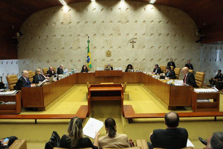 Brasília - Plenário do Supremo Tribunal Federal (STF)   Foto Agência Brasil
