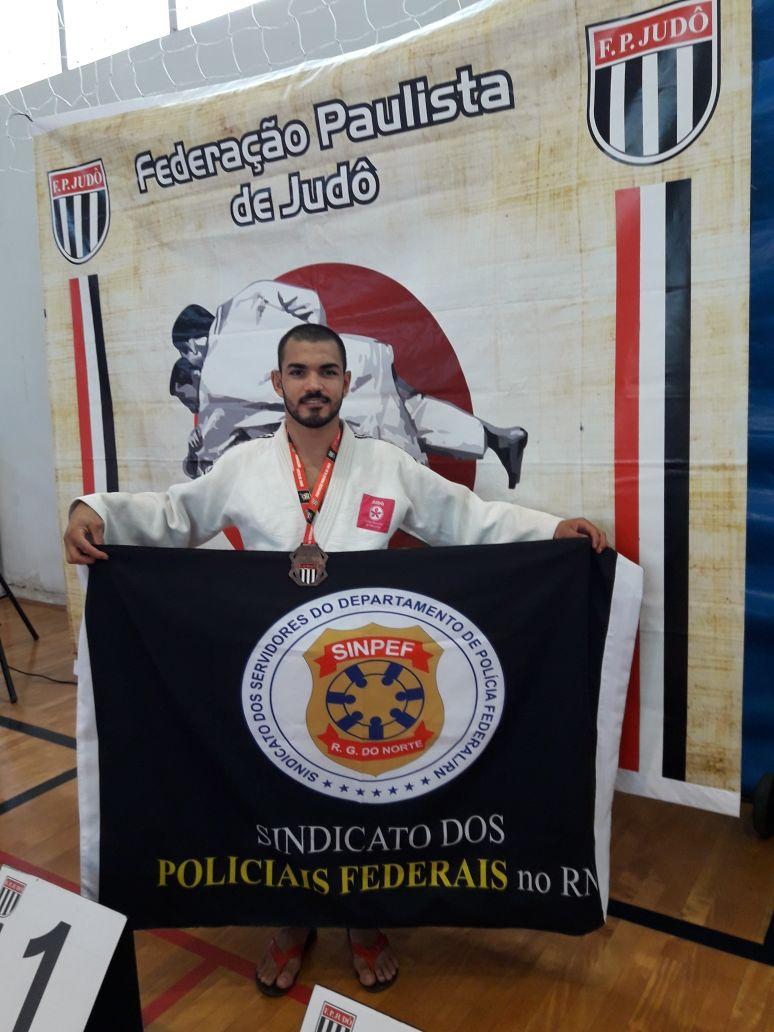 O judoca destaca que sua busca, como atleta, é chegar à Olimpíadas e o Sindicato dos Policiais Federais do Rio Grande do Norte (Sinpef/RN) é um importante aliado nessa caminhada.