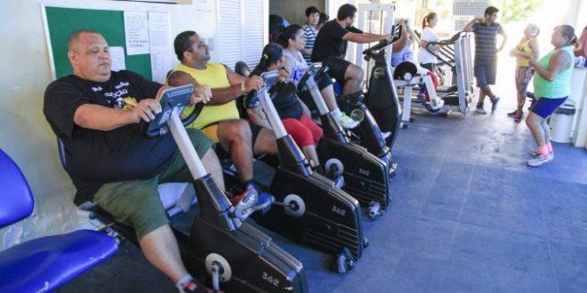 O Centro de Obesidade passou a funcionar em um novo endereço neste ano e é mantido pela Secretaria de Saúde.