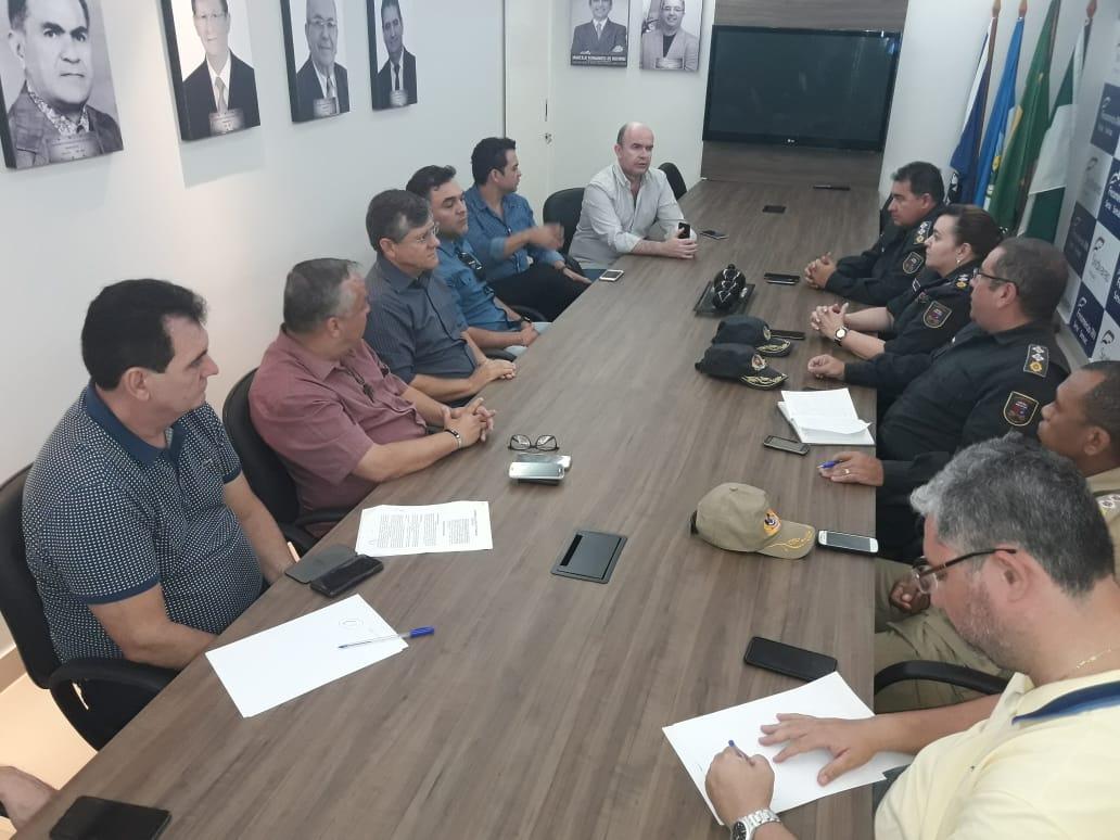 A reunião aconteceu na sede do Sindicato do Comércio Varejista Mossoró (Sindvarejo).