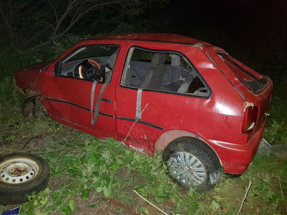 Bebê morre e seis pessoas ficam gravemente feridas em acidente em Angicos