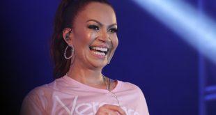 Antes do show, Solange Almeida falou da alegria que estar de volta a Mossoró.