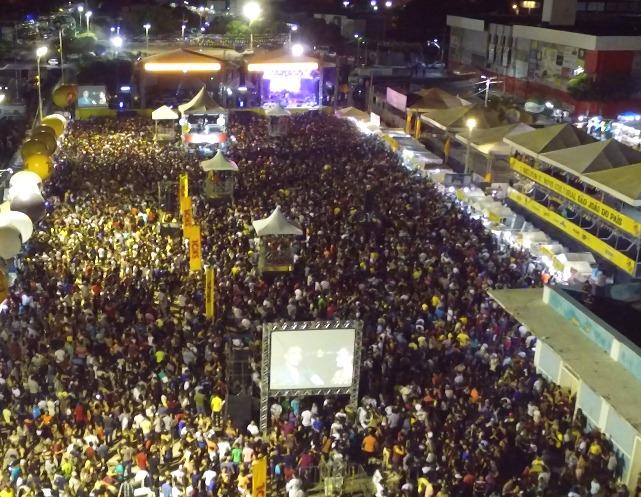 Mais de um milhão de pessoas passaram pela estação das artes durante o MCJ, afirma Prefeitura