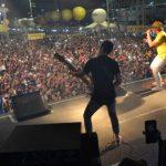 Banda A Loba anima penúltima noite de shows na Estação das Artes