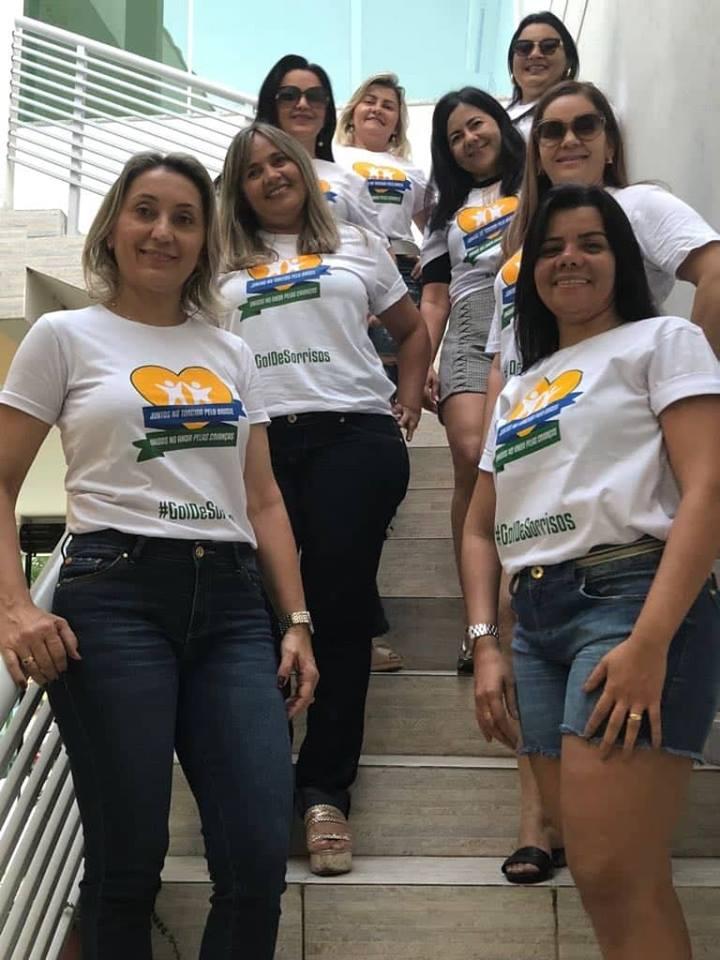 Elas arrasaram e já disseram Sim a Campanha do Hospital Infantil Varela Santiago: Socorro Alves, Fausta Costa, Erivania, Danusa Maia, Joenilma Menezes, Luzinete Fernandes, Claudia, e Samantha Maia. Achei chique!