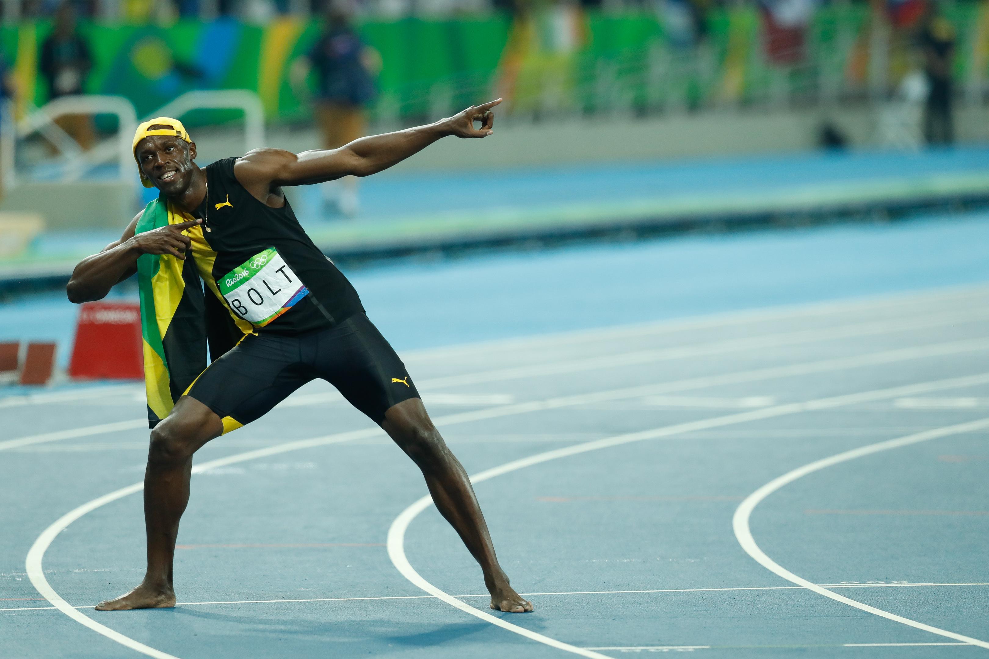 Usain Bolt estreia como jogador de futebol nesta terça-feira