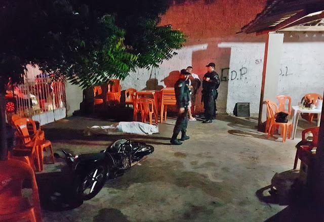 Crime aconteceu em bar localizado no Alto da Conceição.