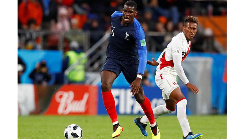 França vence Peru e está classificada antecipadamente