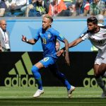 Brasil vence Costa Rica por 2 X 0