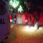 Bandidos invadem festa de batizado, matam uma pessoa e deixam duas baleadas