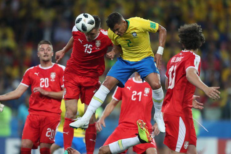 Seleção Brasileira teve em média 58,6% de posse de bola nas três primeiras partidas da competição.