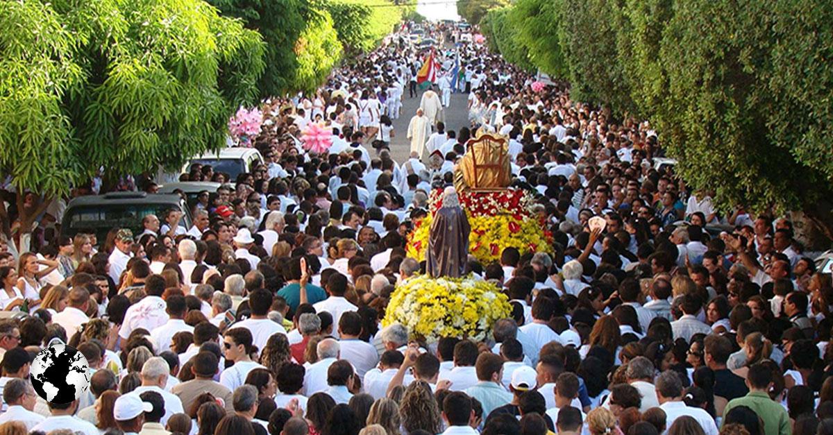 A tradicional Festa de Sant'Ana em Caicó leva  CAERN a alertar sobre o consumo de água na cidade.
