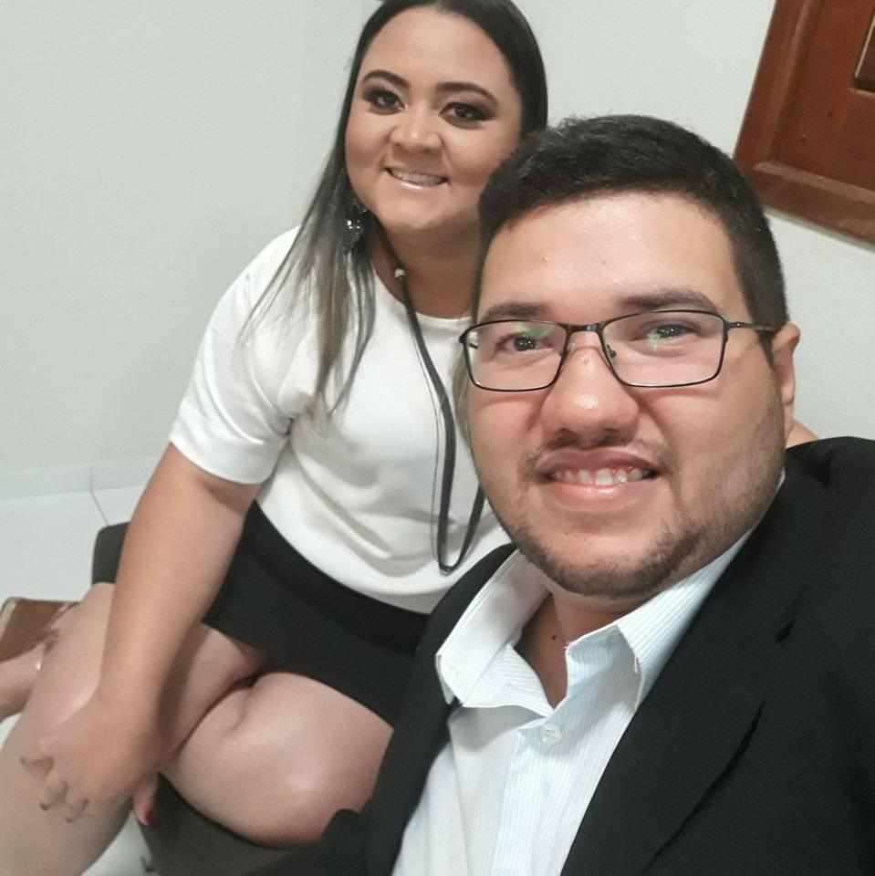 Casal Empreendedor Carlos Henrique e Glauquia Meirele que prometem inaugurar nos próximos dias o Espaço Físico Empório dos Mimos.