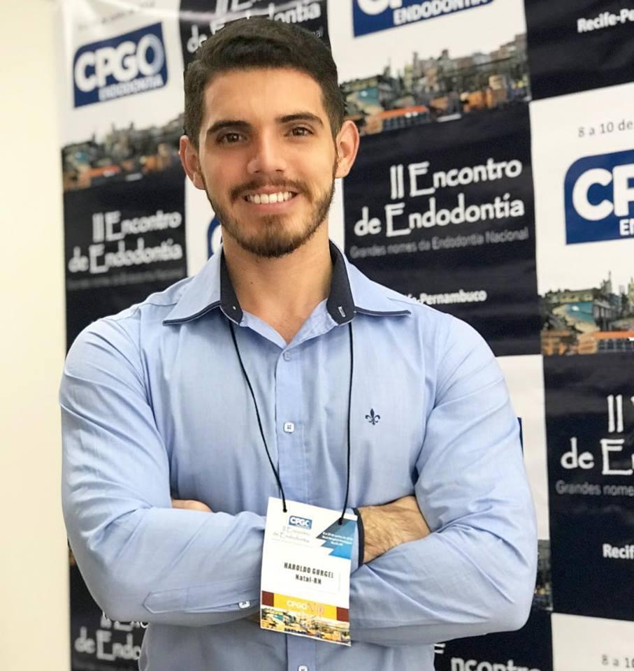 Parabéns ao Odontólogo Mestre Haroldo Gurgel Mota Filho que foi aprovado para cursar Doutorado pela UFRN. Aplausos!