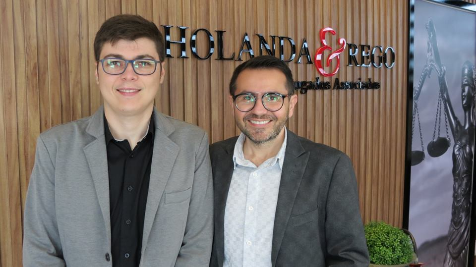 Sucesso para o Advogado Jean Carlos e Vinícius Rêgo, pela inauguração do seunovo escritório Holanda & Rego advogados.