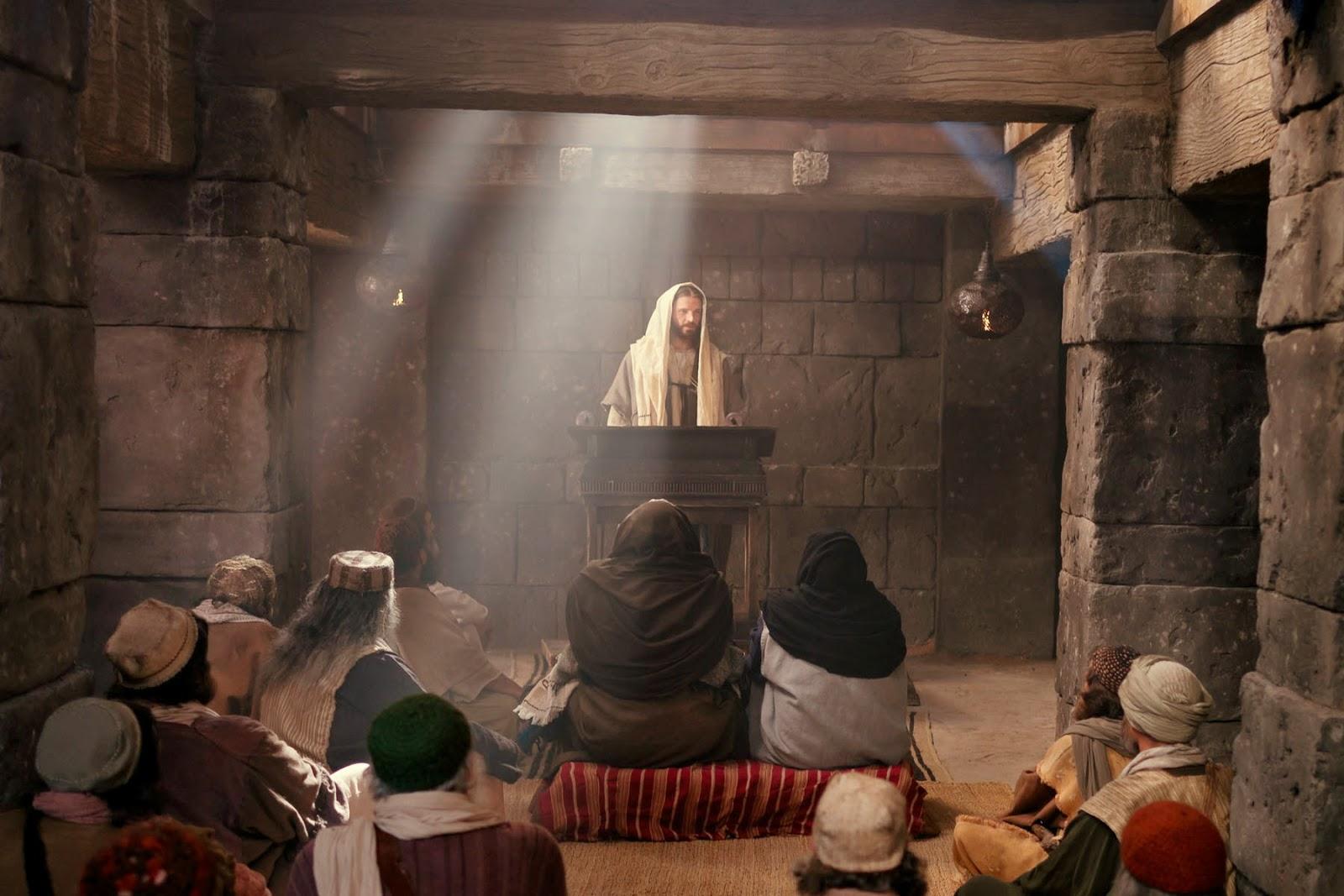 Jesus-na-Sinagoga
