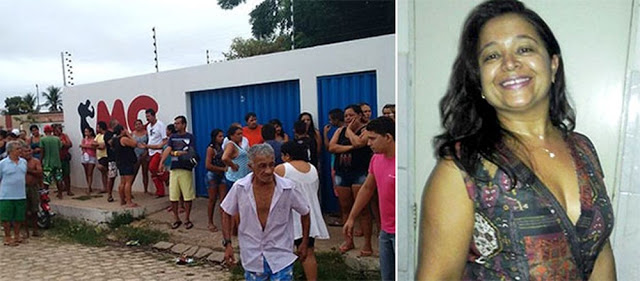 O crime aconteceu em Mossoró, onde a vítima, Cristiane Bezerra de Moura Câmara de 38 anos foi morta por arma de fogo dentro de uma academia.
