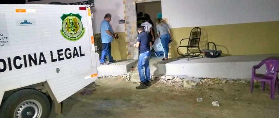 Pedreiro é assassinado na área de casa no Alto da Pelonha