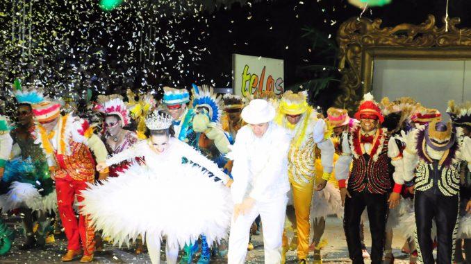 "A campeã foi a sexta quadrilha a se apresentar na noite da final e trouxe como tema ""Telas Vivas"" que reviveu o romance Iracema, do escritor cearense José de Alencar."