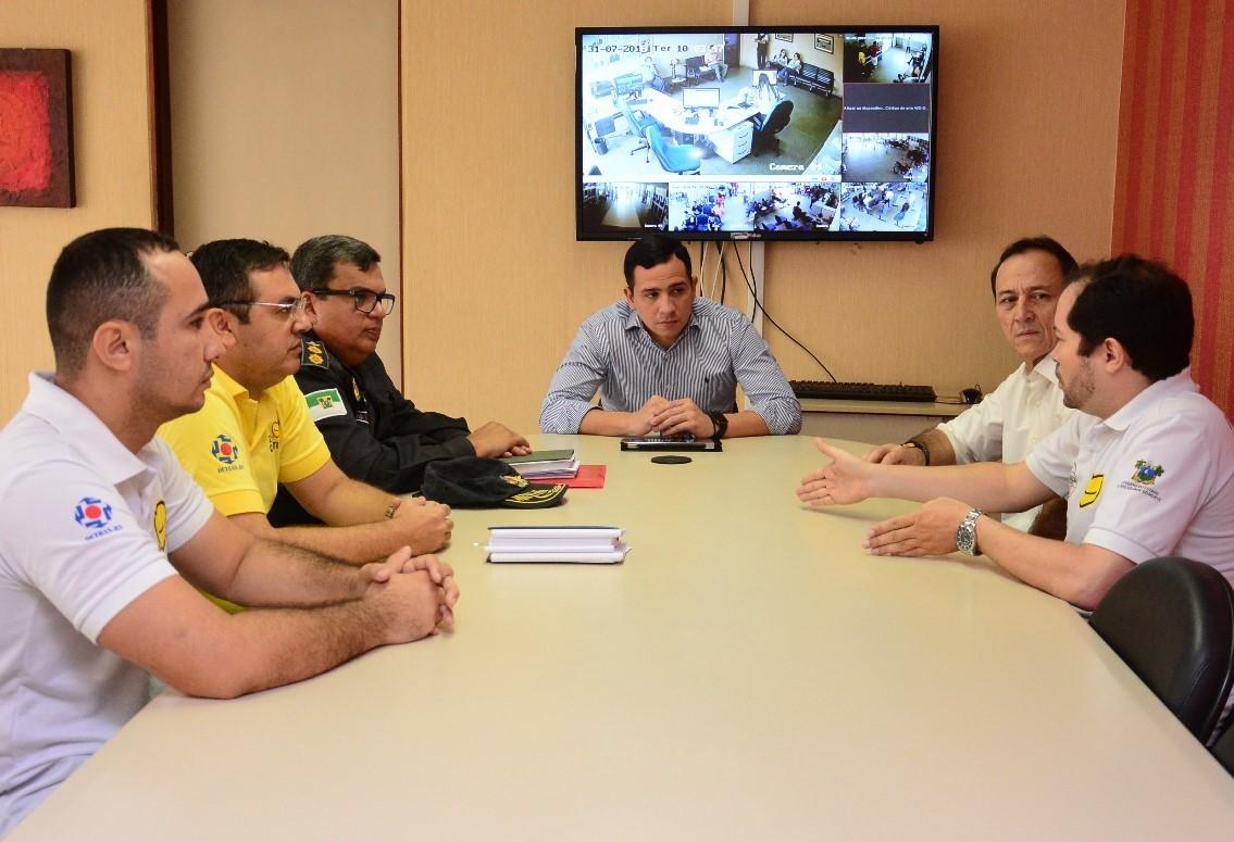 O tenente-coronel PM Francisco Flávio Melo do Santos assumiu a coordenação da Operação Estadual nessa terça-feira