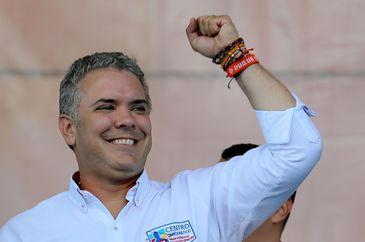 O presidente da Colômbia, Iván Duque-EFE/Leonardo Muñoz/Arquivo/Direitos Reservados