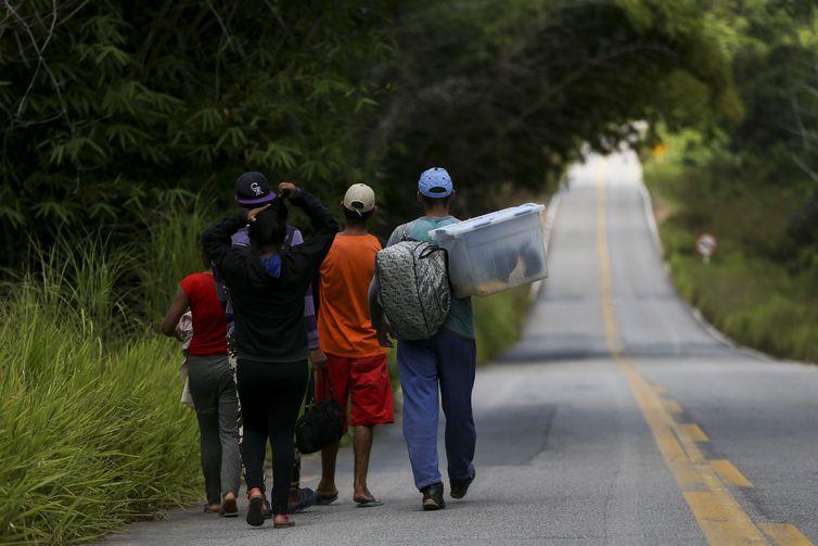 Imigrantes venezuelanos (Marcelo Camargo/Agência Brasil)