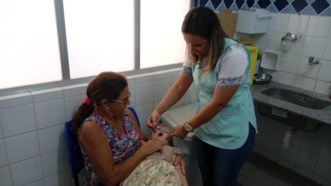 Campanha de Vacinação contra Poliomielite e Sarampo é prorrogada